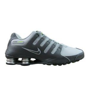 Nike Shox NZ Running Shoes Mens Dark Wolf Grey
